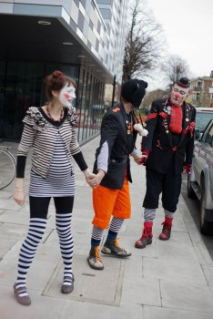 GRIMALDI MEMORIAL SERVICE CLOWNS DAY OUT -17