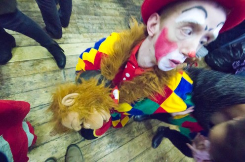 GRIMALDI MEMORIAL SERVICE CLOWNS DAY OUT -18