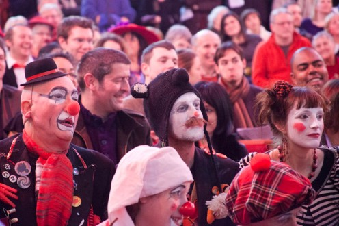 GRIMALDI MEMORIAL SERVICE CLOWNS DAY OUT -20