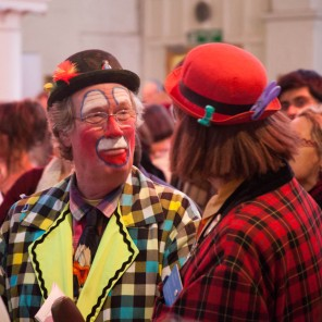 GRIMALDI MEMORIAL SERVICE CLOWNS DAY OUT -28