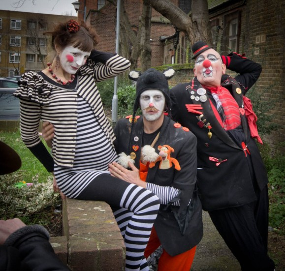 GRIMALDI MEMORIAL SERVICE CLOWNS DAY OUT -29