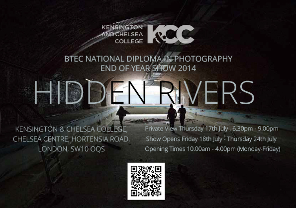 HIDDEN RIVERS POSTER CARD