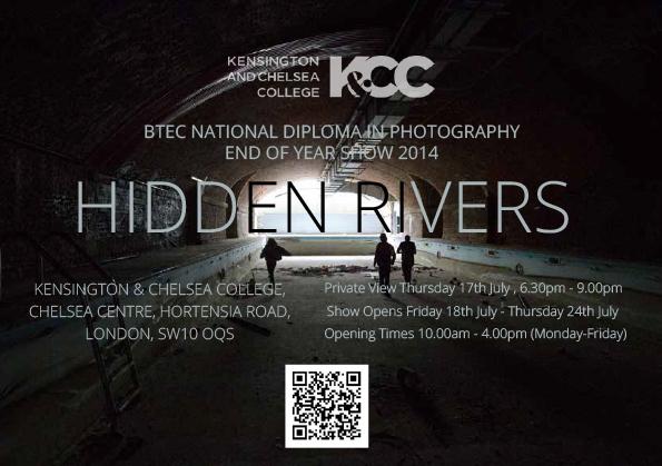 HIDDEN RIVERS POSTER CARD